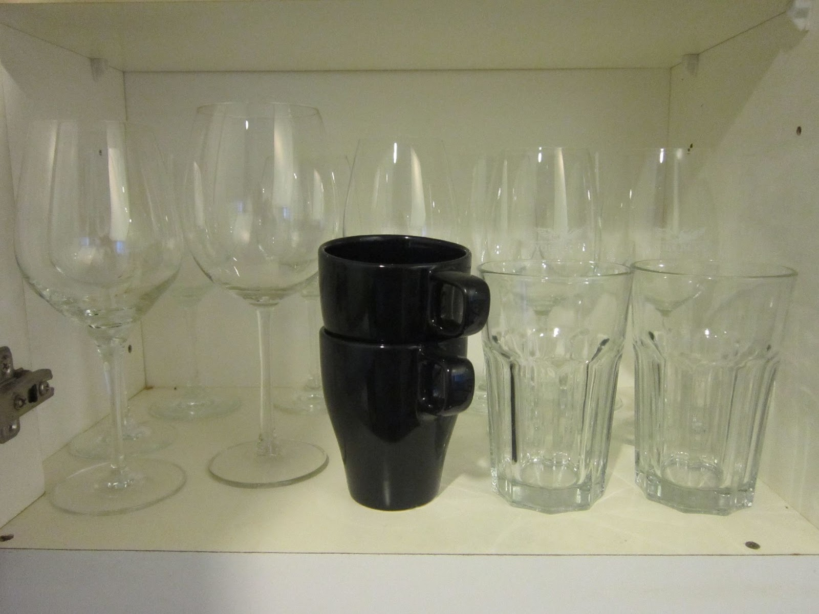 Pieces For The Home Assorted Stemware Glasses And Cups