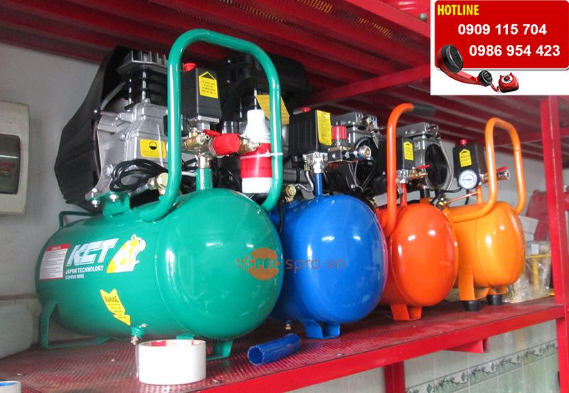 Nên mua máy nén khí, bình bơm hơi khí nén loại nào