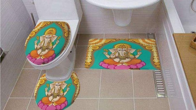 Amazon Faces Severe Backlash from Indians for Selling Bathroom Products Featuring Images of Hindu Gods