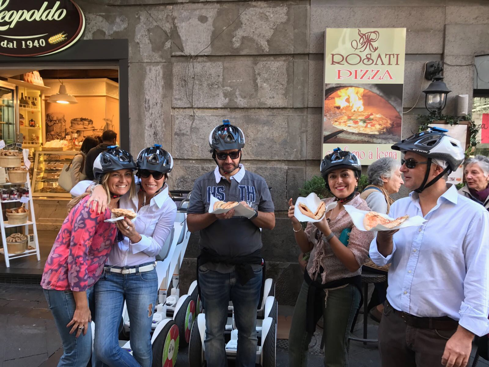 1,5 H FOOD TASTING SEGWAY TOUR