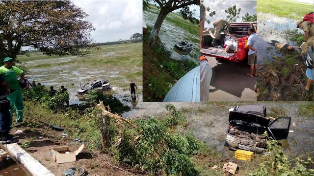 Acidente grave deixa um morto e três feridos no interior do Maranhão