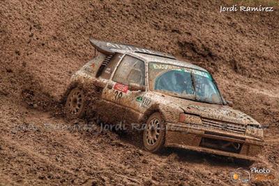 Campeonato de España de autocross en Mollerussa