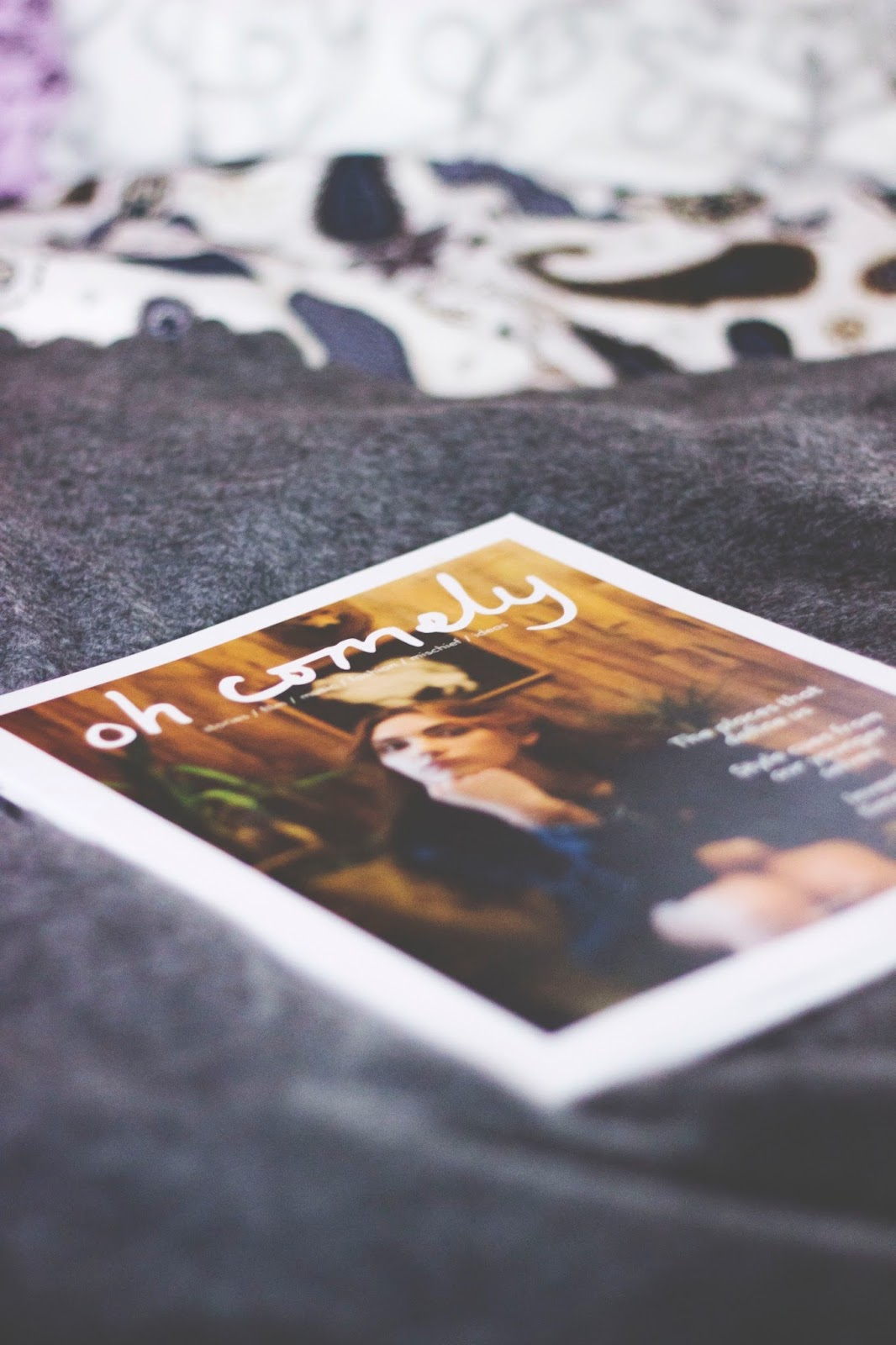 Oh Comely Magazine, IKEA Blanket, IKEA Duvet Cover, Oh Comely, Derbyshire Blogs, Katie Writes,