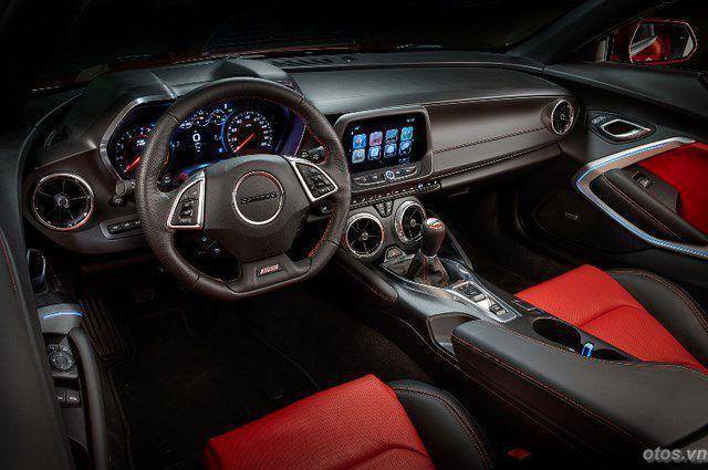 Xe Chevrolet Camaro 2016 - mẫu xe của năm
