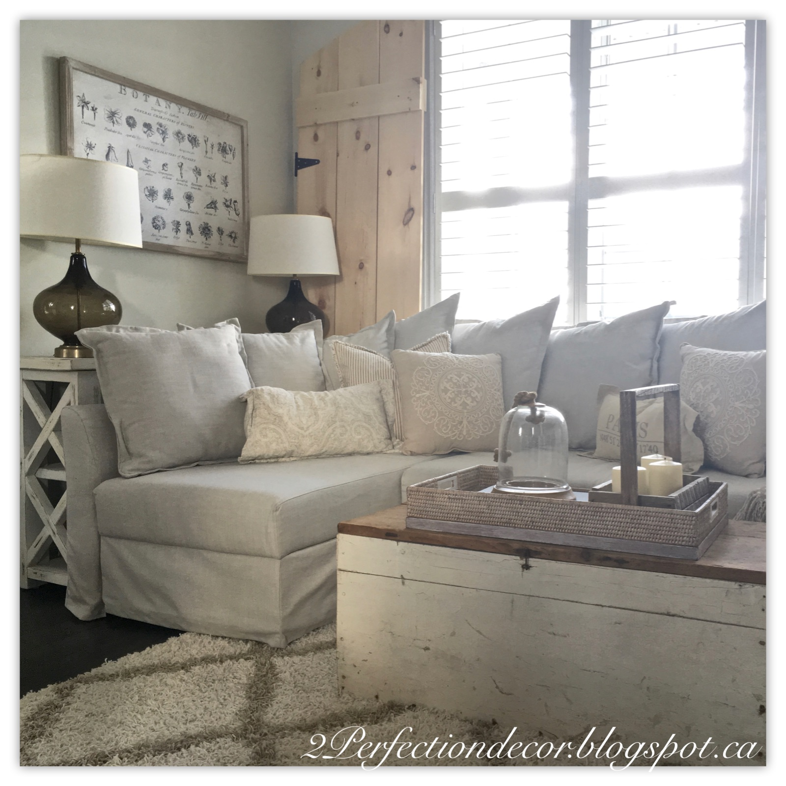 2Perfection Decor: Deciding On A Sectional Sofa For Our