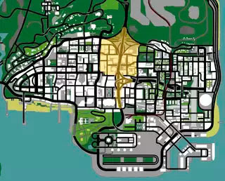 GTA SA Map Shadows by Ezekiel (Insanity)