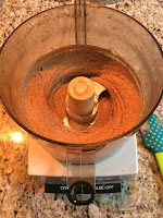 Photo of resulting 2 cups of almond butter from processing 4 cups of raw almonds in a food processor. https://trimazing.com/