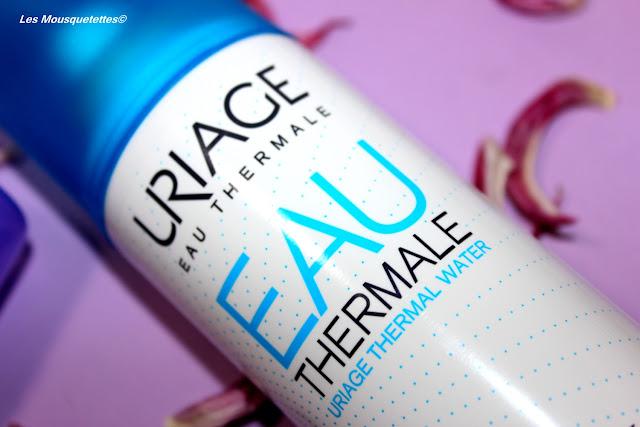 Eau thermale - Uriage - Blog beauté Les Mousquetettes©