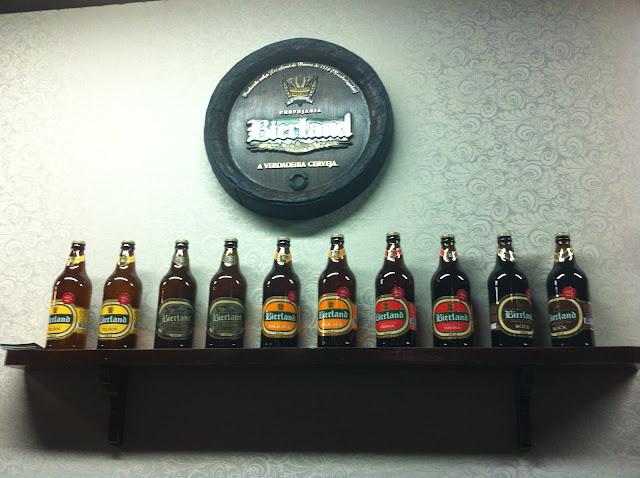 Cervejas da Bierland.