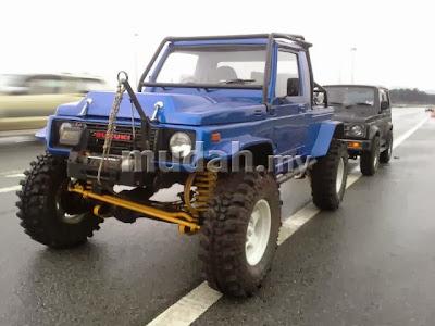 You really, really need one of these - V8 Suzuki Jimny