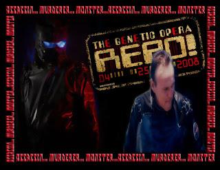 Montage photo du Repo Man, interprété par Anthony S. Head