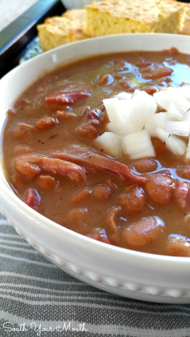 How long to cook soaked beans in crock pot