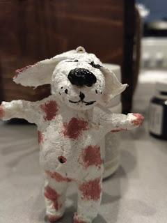 настроение своими руками, символ года, собака, год собаки, новый 2018, собака из ваты, игрушки на елку. ватные игрушки, игрушки своими руками, яна SunRay, елочные игрушки из ваты,