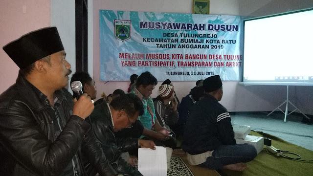 Kelompok Tani Maju Protes Tidak Bisa Menyewa Tanah Kas Desa/Bengkok Desa, Dan Warga RW 10 Protes TPST Tidak Difungsikan Saat Musyawarah Dusun Junggo Desa Tulungrejo