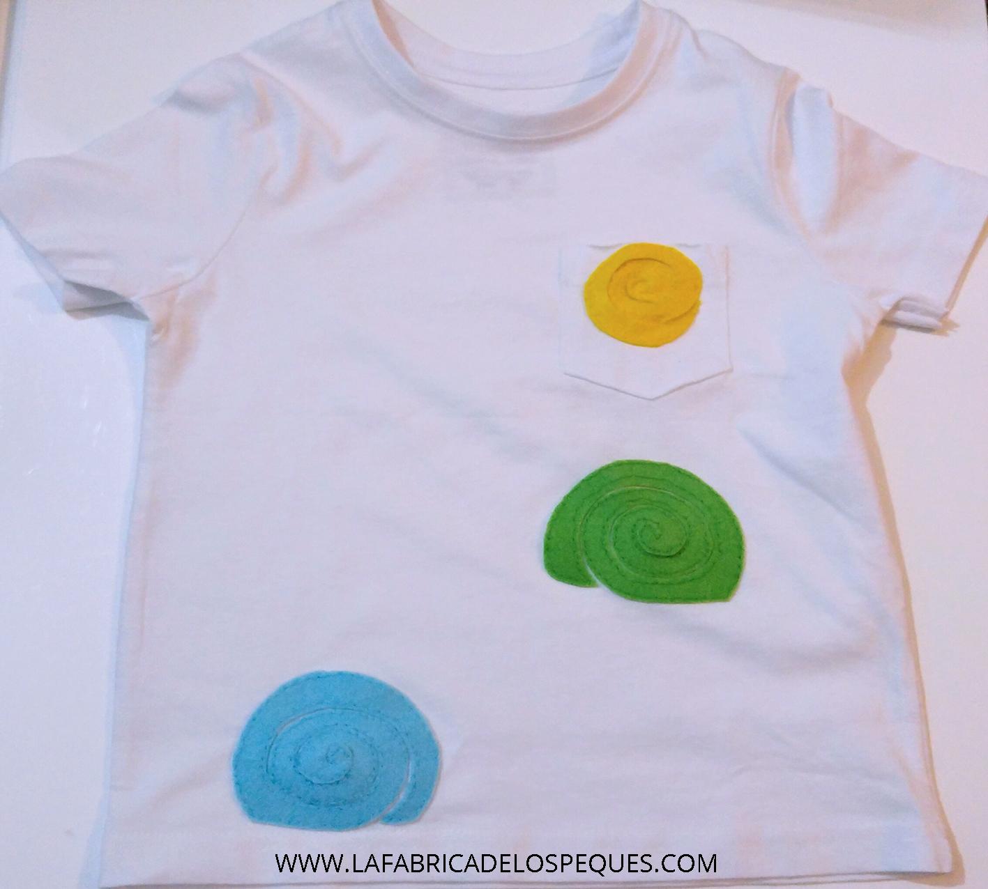 Camisetas Estampadas Y Decoradas Con Peques La Fábrica De Los Peques