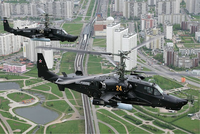 Gambar 01. Foto Helikopter Tempur Kamov Ka-50 Black Shark
