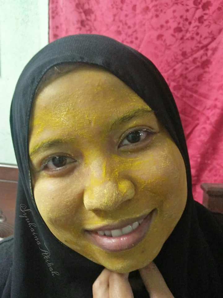 Masker Kunyit Melembapkan & Melembutkan Kulit, Masker Kunyit Sebagai Facial Di Rumah