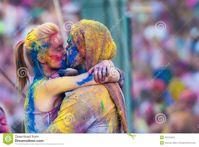 Images Of Holi Festival For Colouring