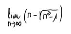 41. Límite de una sucesión (ind. inf. menos inf.) 4