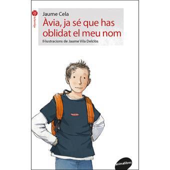 Portada del llibre infantil de Jaume Cela