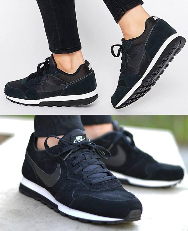 3b2bf9fe5e Tênis Nike Md Runner 2 - Preto - R  157