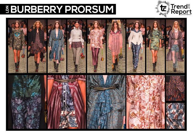 Textile Candy, fashion blog, runway collections, catwalk collections, Spring/Summer 2017, SS17, runway favourites, Burberry Prorsum, London fashion week