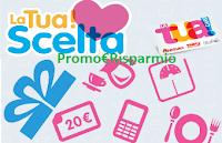 Logo LaTua!Card, LaTua!Scelta e vinci facendo la spesa