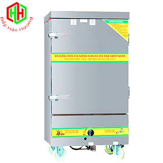Tủ Nấu Cơm Gas Và Điện 6 Khay –TC6K-GĐ