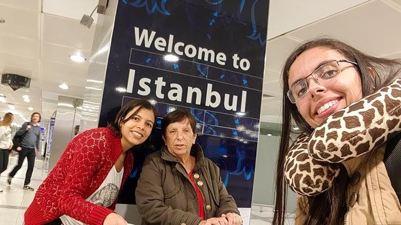 Diário de Bordo - 5 dias em Londres - parada em Istambul