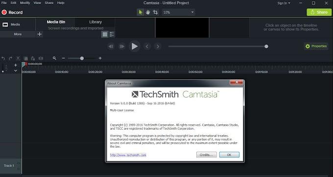 Phần mềm Camtasia Studio 9.0 Full Crack và serial xin
