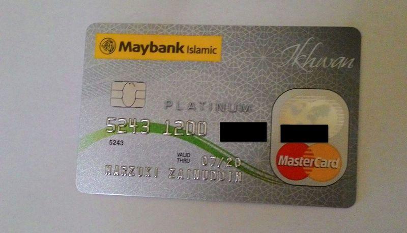 Maybank Islamic Ikhwan MasterCard Platinum Card-i