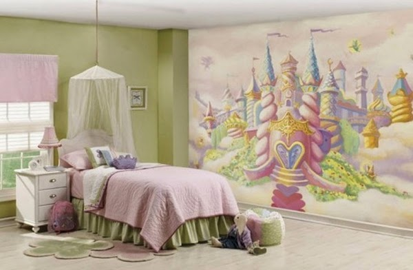 7 Inspiring Kid Room Color Options For Your Little Ones: Girly Bedroom Decor Ideas And Designs
