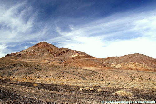 Death Valley Trip, Getting There: Highway 95, Redlich, Columbus Salt Marsh, and Another View of Boundary Peak