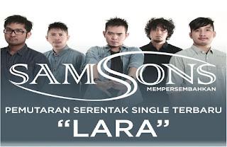 Lirik Dan Kunci Gitar Samsons - Lara