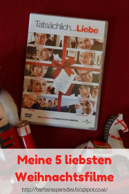 Meine 5 liebsten Weihnachtsfilme - Tatsächlich Liebe