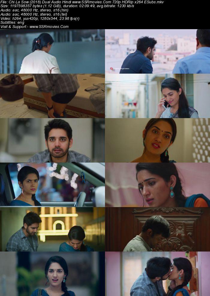Chi La Sow (2018) Dual Audio Hindi 720p HDRip 1.1GB ESubs Movie Download