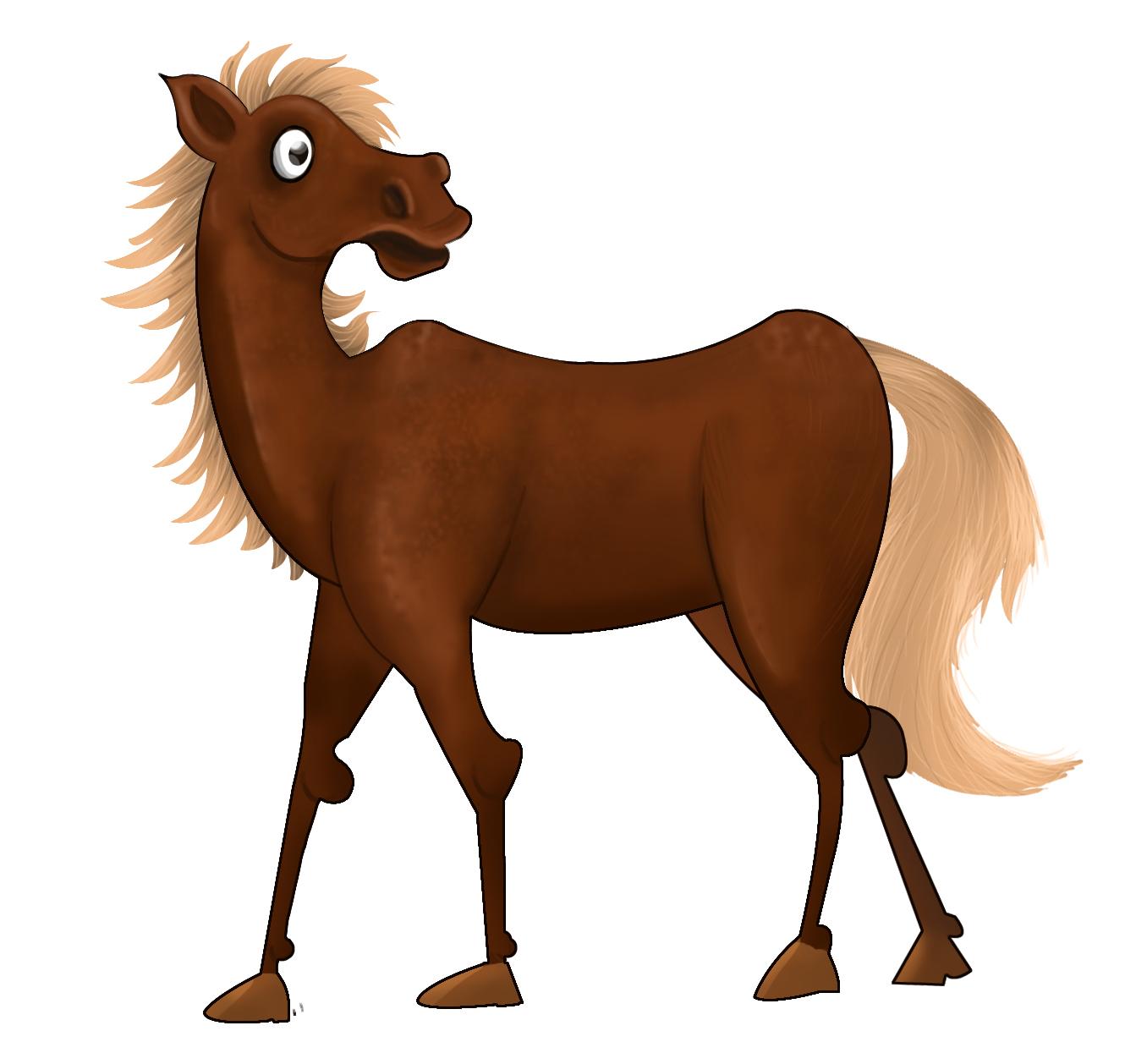 Horse Cartoon Selva Art: Cart...