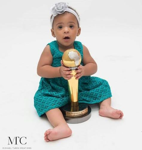 See This Adorable photo of Anna Banner & Flavour's Daughter