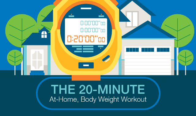 The 20 Minute At Home, Body Weight Workout