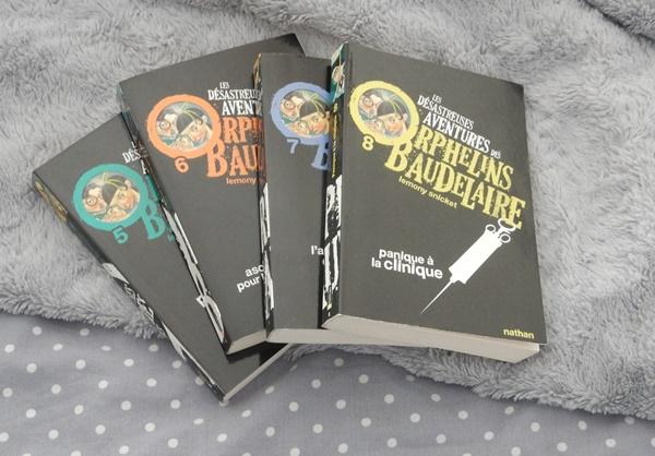 {Lecture} Les désastreuses aventures des orphelins Baudelaire