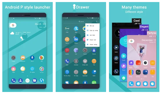 PP Launcher (Android 9.0 P Launcher style) v1.4 Prime Apk