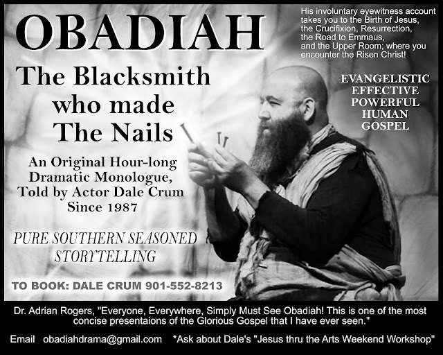 Obadiah the blacksmith who made the nails that held Jesus to the cross