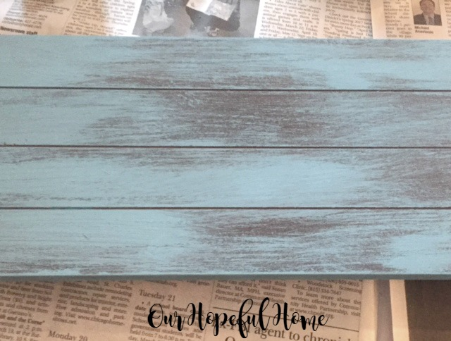 rustic sign Americana Decor Chalky Finish Paint in Escape