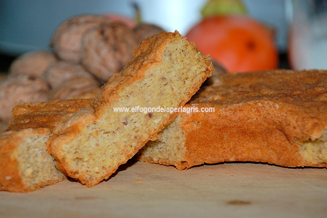 Bizcocho de castañas sin gluten