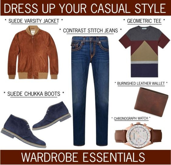 Rugged Rascal - Dress Up Your Casual Style www.toyastales.blogspot.com #ToyasTales