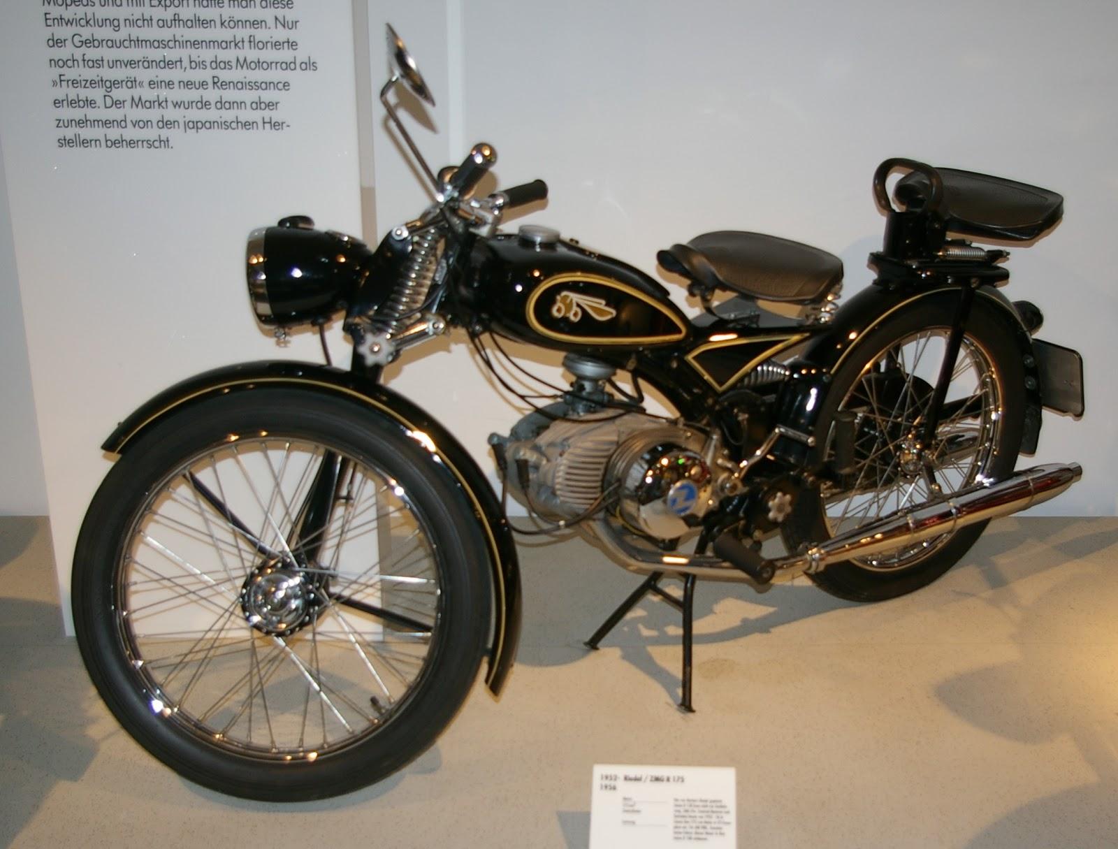 ZMG Imme R175 Twin Cylinder Motorbike