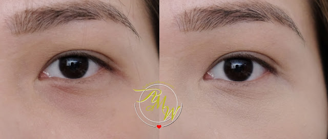 before and after photo of CLIO Kill Cover Pro Pot Concealer Review by askmewhats Nikki tiu