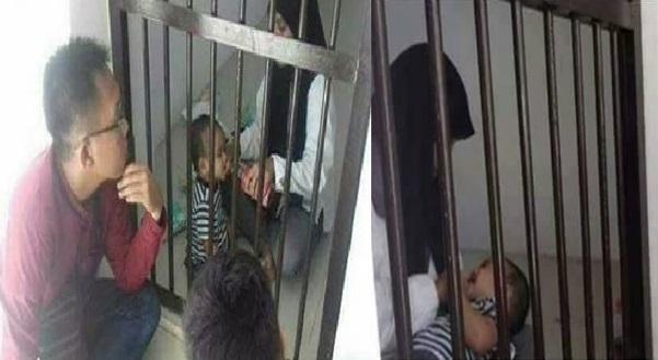 Bayi 10 Bulan Ini Sudah Masuk Penjara, Ribuan Netizen Menangis Membaca Kisahnya