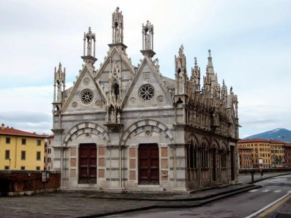 Iglesia de Santa Maria della Spina (Pisa, Italia)