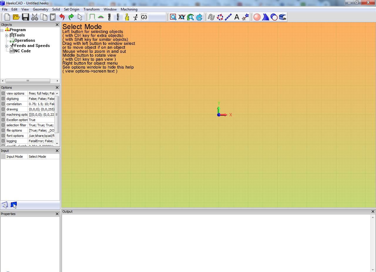Download Software HeeksCNC